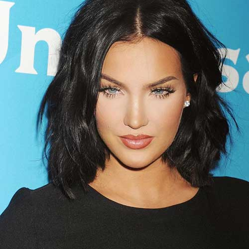 Short Dark Haircuts for Girls