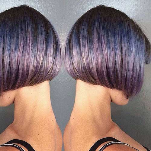 25 bob hair color ideas short hairstyles 2017 2018 for Cut and color ideas