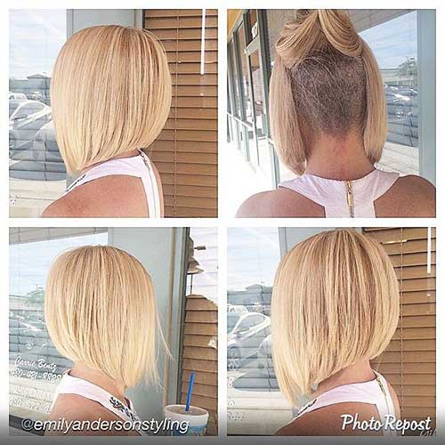 Short Girl Undercut Hairstyles