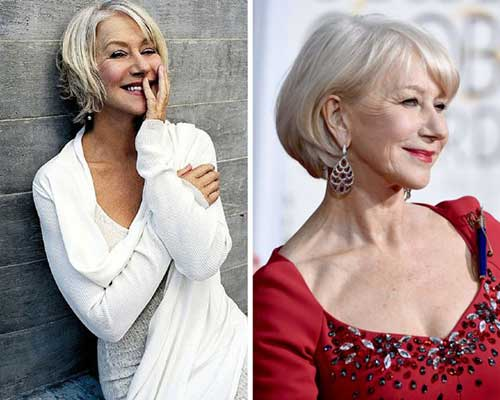 20 Super Short Hair Styles For Older Women Short