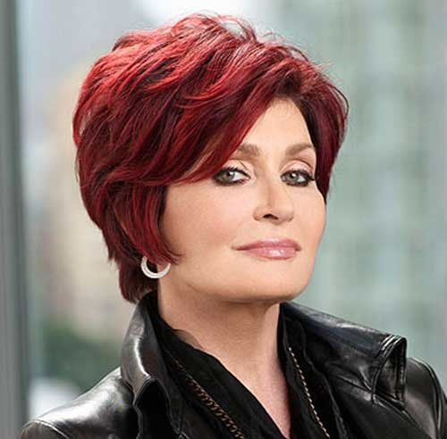 Short Red Hair Cuts for Women Over 40