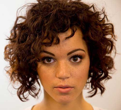 Short Hair for Curly Hair 2015