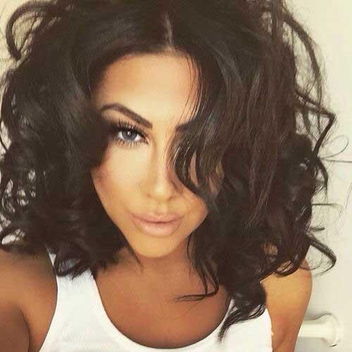 Short Haircut for Curly Hair 2015