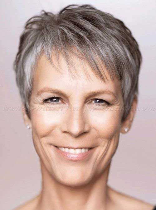 Short Pixie Hair Styles for Women Over 50