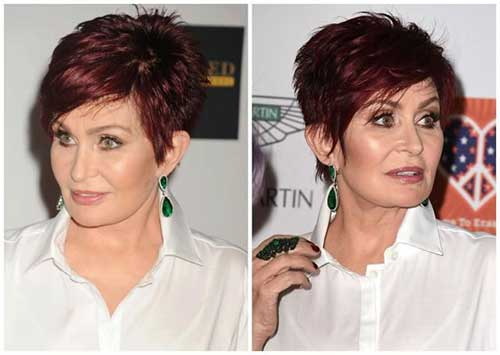 Short Pixie Hair Styles for Older Women
