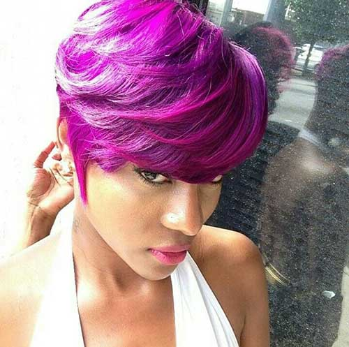 short twa hairstyles : And Purple Hairstyles For Girls 15+ black girls with short hair short ...