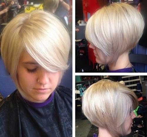 Short Straight Hair Inverted Bob Haircuts