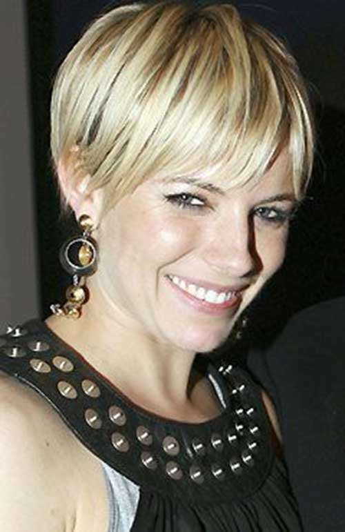 10 best sienna miller pixie cut short hairstyles 2017