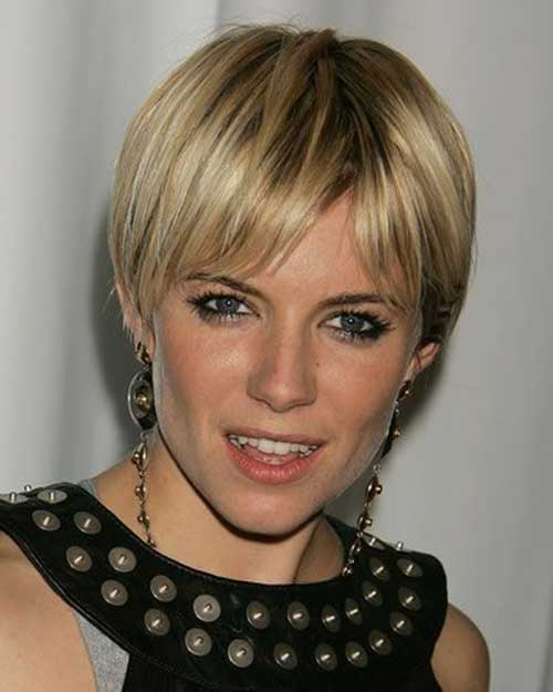 Sienna Miller Fine Hair Pixie Cut