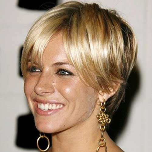 Chic Sienna Miller Pixie Haircut