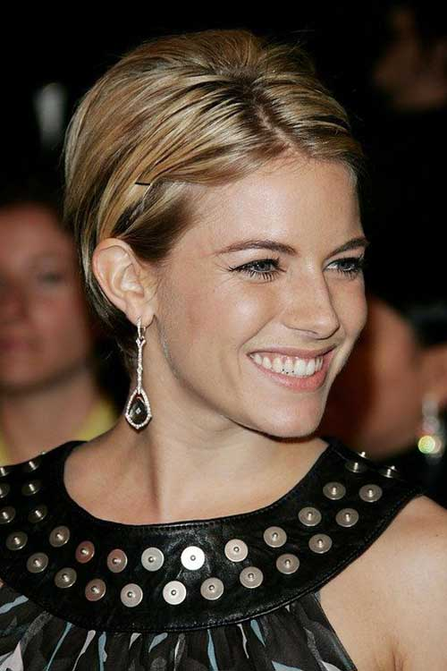 Sienna Miller Short Hair Pixie Cut Pictures
