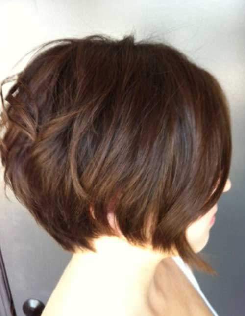 Simple Cute Graduated Bob Hairstyles