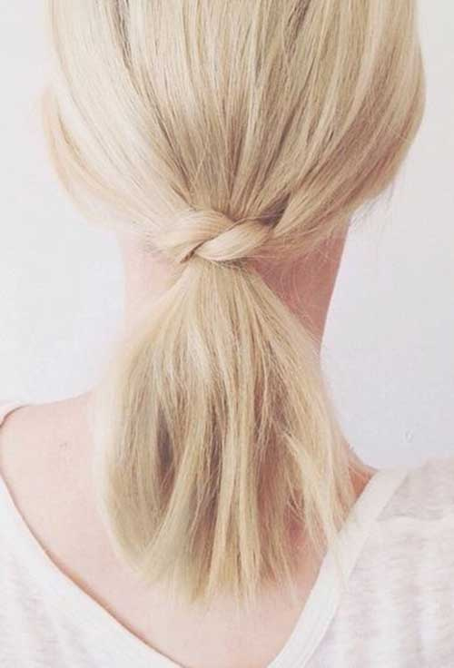 10 Cute Simple Hairstyles For Short Hair