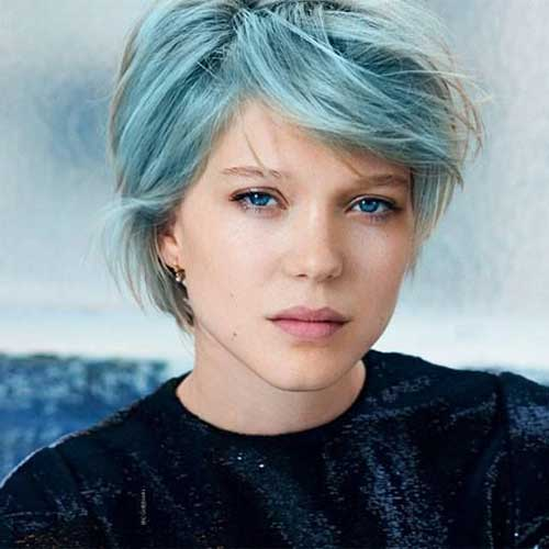 Best Soft Blue Pixie Hairstyles