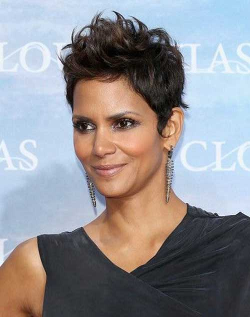 Spiky Pixie Hair Cuts for Women Over 40