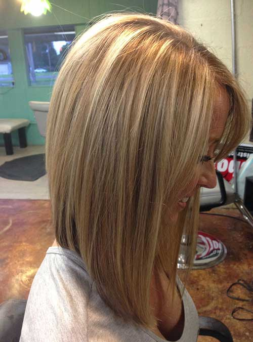Straight Hair Inverted Bob Haircuts
