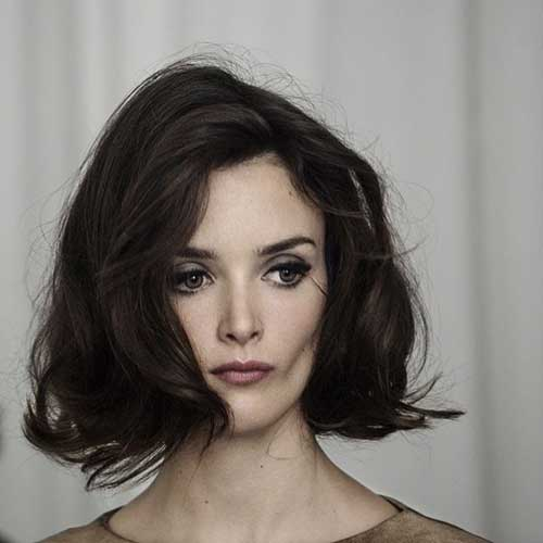 Thick Brunette Bob Hairstyles