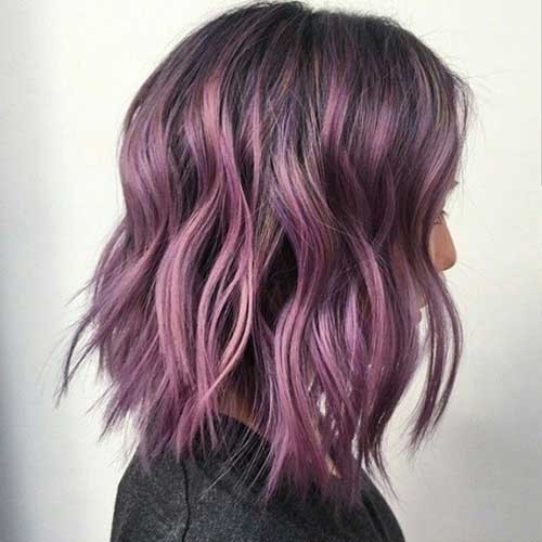 Trendy Short Hair Color 2015