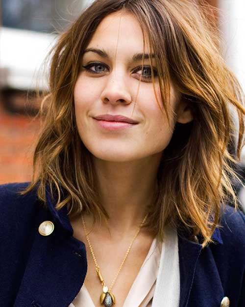 Trendy Short Wavy Hairstyles Pictures