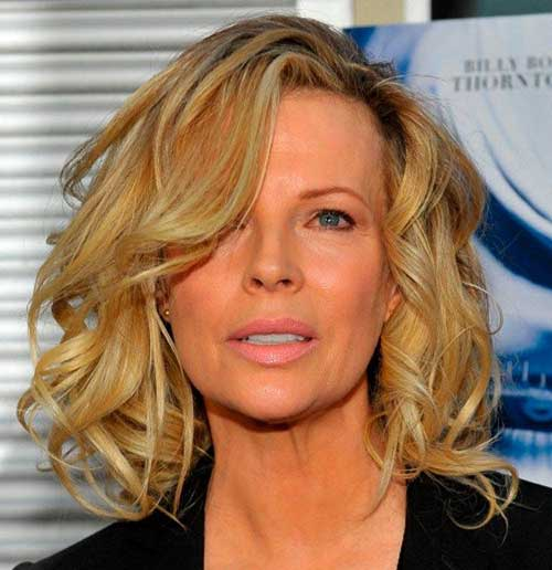 Wavy Bob Hair Styles for Older Women