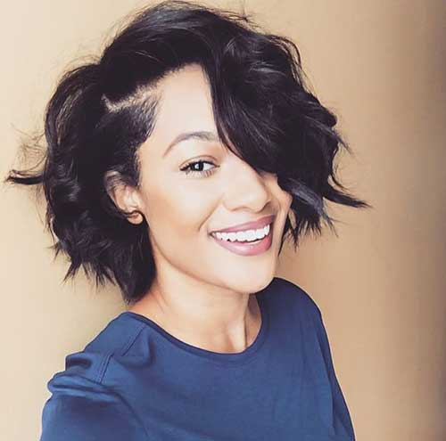 Wavy Cute Short Hair Styles Ideas