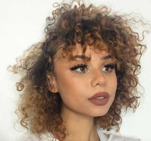 short hair curled styles 20 curly hairstyles for pretty crazyforus 1572 | 11.Best Curly Short Hair
