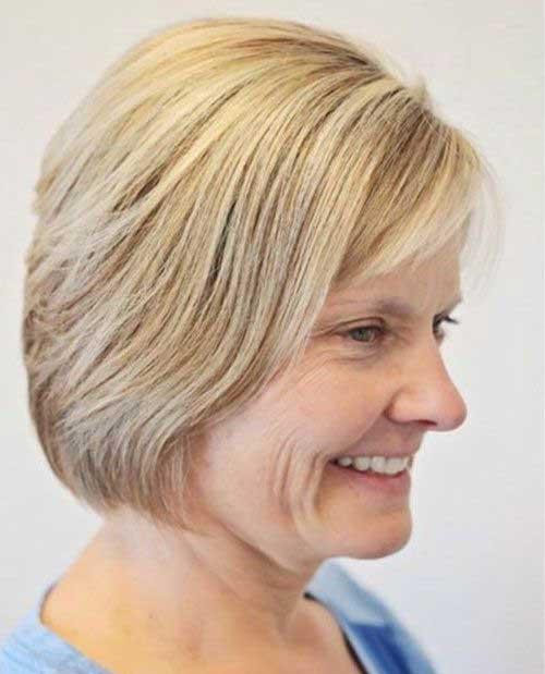 Short Haircuts Older Ladies-13