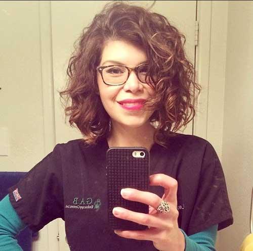 Curly Short Hair-16