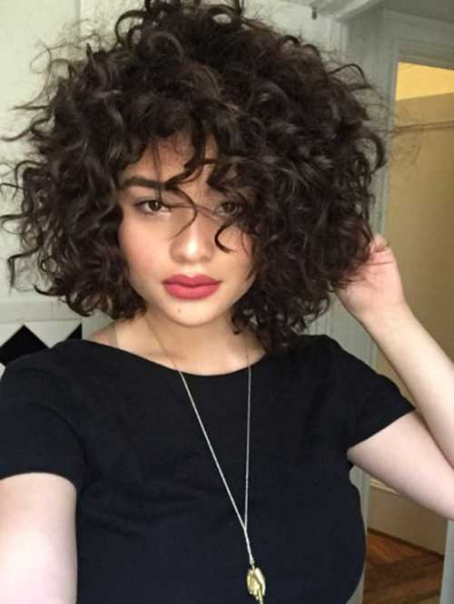 Creative Best Short Hairstyles For Curly Hair  Fave HairStyles
