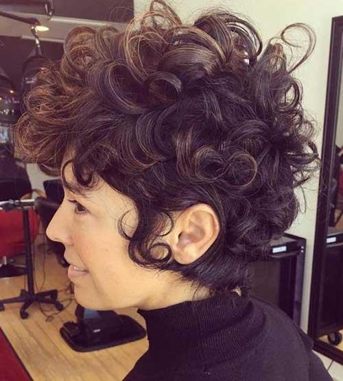 Curly Short Hair-18