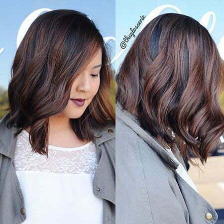 Short Dark Brown