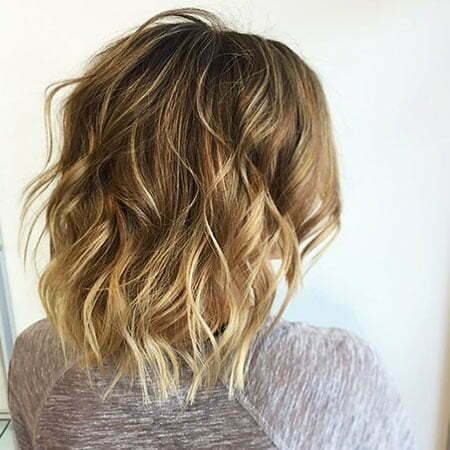 Short Messy Curly