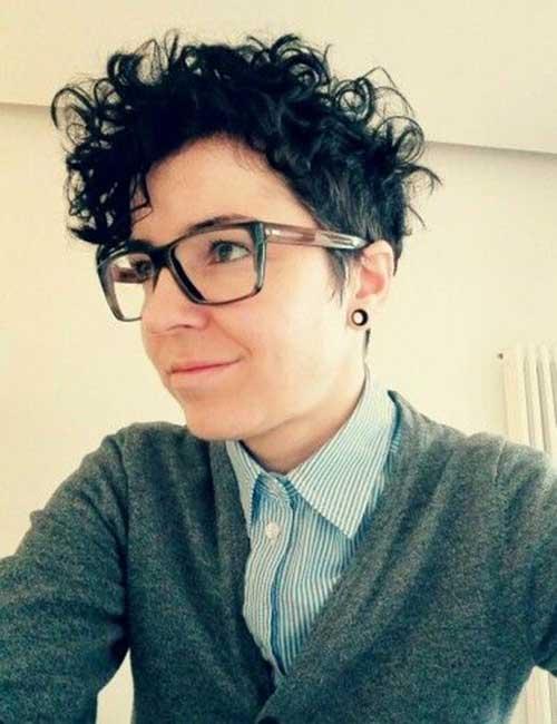 Curly Short Hair-9