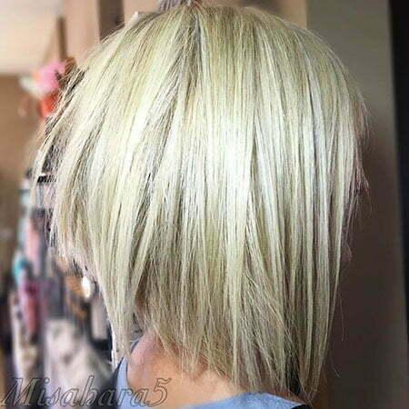Blonde Razor Cut