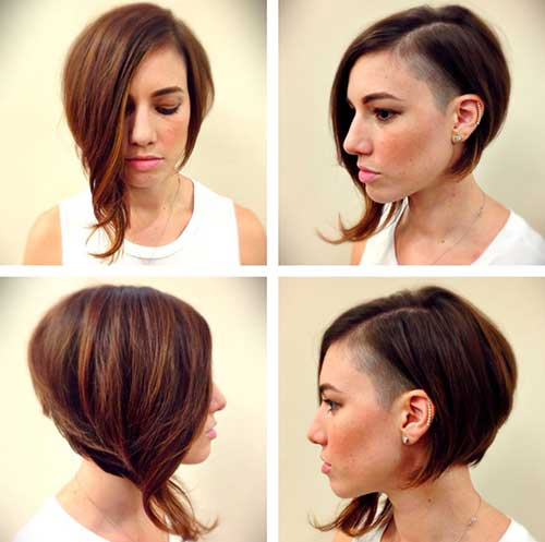 Asymmetrical Funky Short Hairstyles
