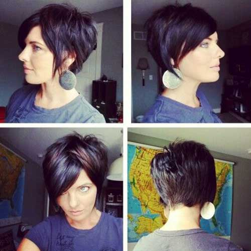 Best Short Dark Hairstyles 2014 2015