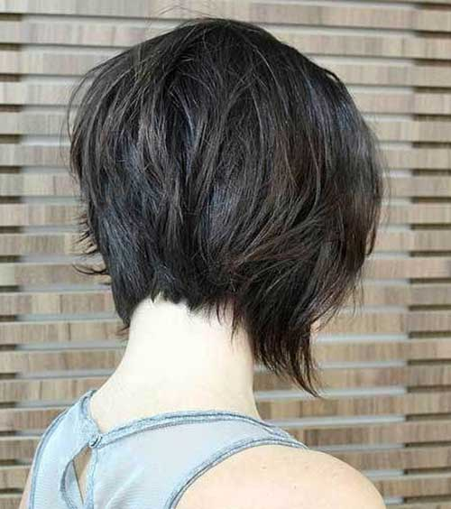 Best Short Graduated Haircuts 2014