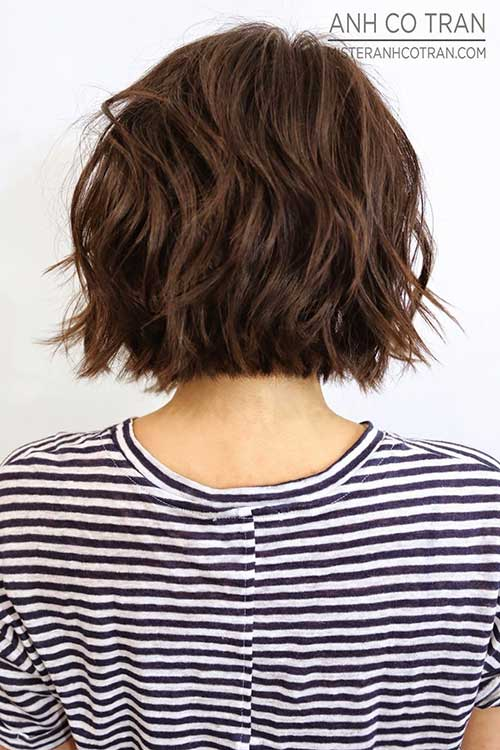 Best Short Hair Back View 2015