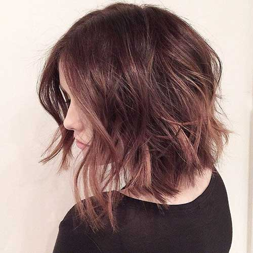 Best Wavy Short Haircuts For 2014