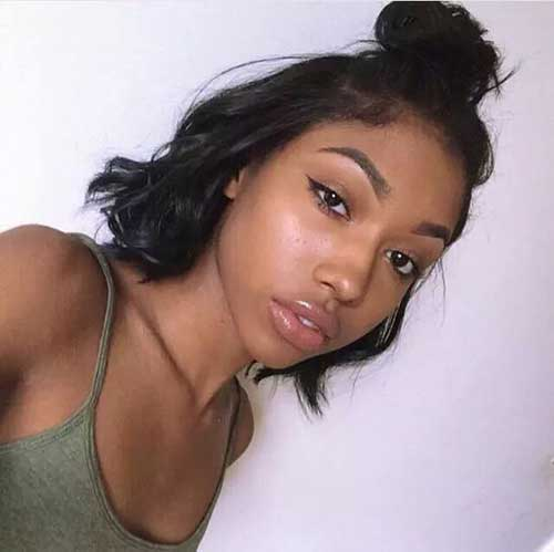 Really Pretty Black Girls With Short Hair Short Hairstyles 2018
