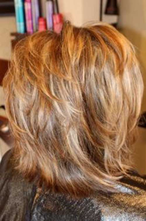 Blonde Hairstyles for Short Layered Haircuts