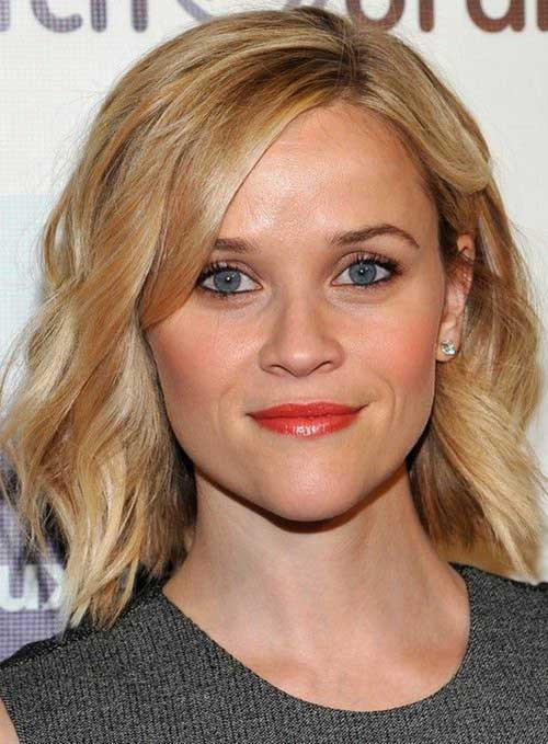 Blonde Short Wavy Hair Cuts
