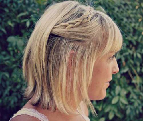 Braided Short to Medium Length Hairstyes