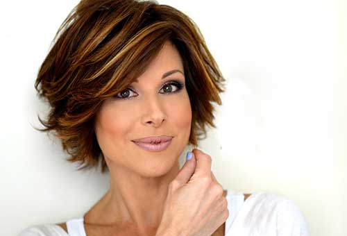 Casual Layered Hairstyles for Short Haircuts