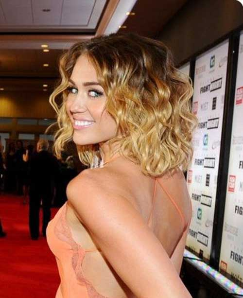 Classy Curly Short Hairstyles 2014