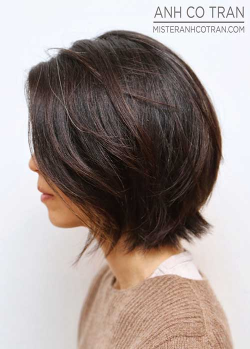 Haircuts Short Dark Hair 2014 2015
