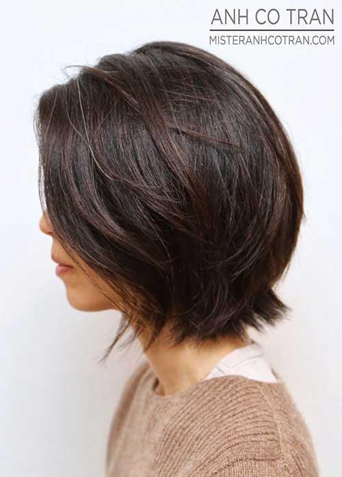 Haircuts Short Dark Hair 2014 2015