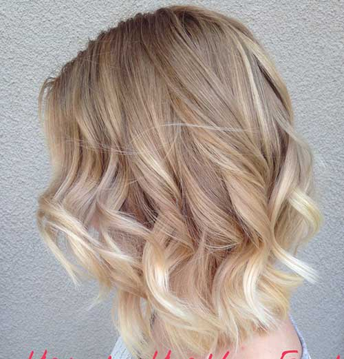 Haircuts for Short Wavy Hair 2015