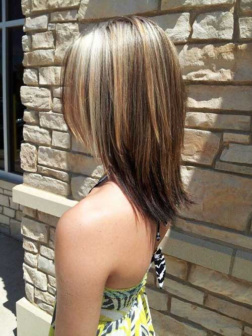 Highlighted Hairstyles for Short Length Hair