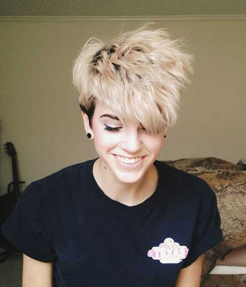 Images for Short Blonde Pixie Hairstyles 2014